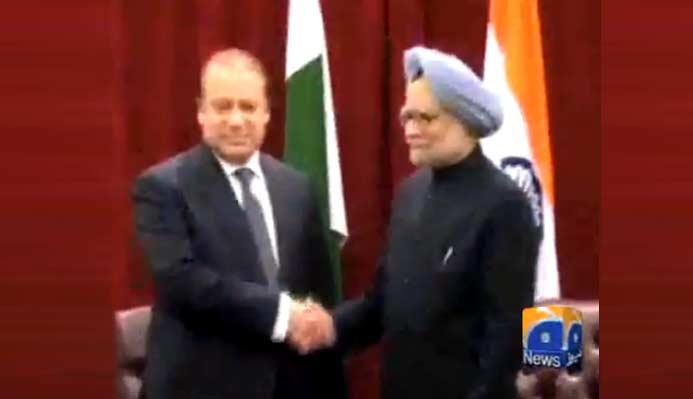 Nawaz Sharif – Manmohan Singh meeting, New York
