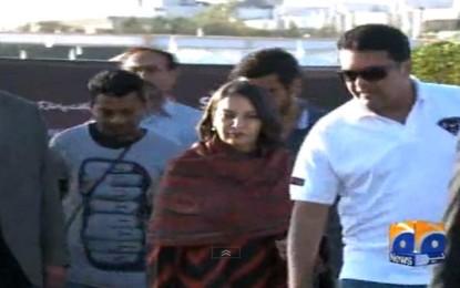 Shabana Azmi visits Sindh Festival