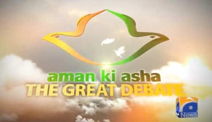 Great Debate-Aman Ki Asha Part 1