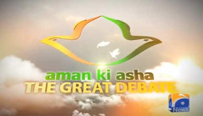 Great Debate-Aman Ki Asha-Part 2