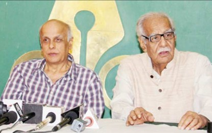 Release Dr Chishty: Kaldip Nayar, Mahesh Bhatt urge Governor