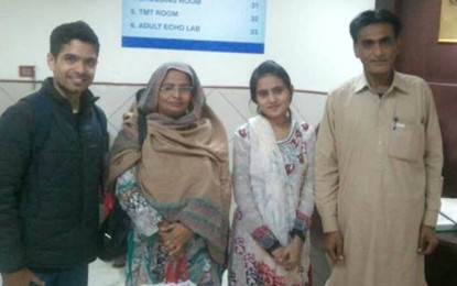Pak teen hopes Bangalore doctors will fix her heart