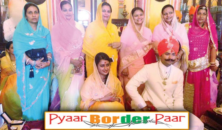 A cross-border royal Rajput wedding