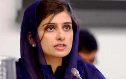 Foreign Minister Khar urges Pakistan, India to mend fences