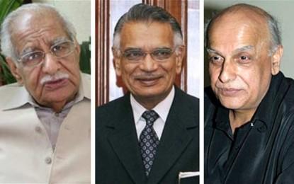 Mahesh Bhatt, Kuldip Nayar meet Governor to seek Dr Chishty release
