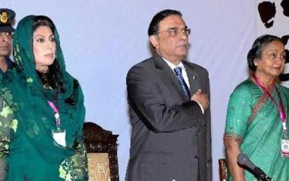 Indian Parliamentary delegation in Pakistan for SAARC meet