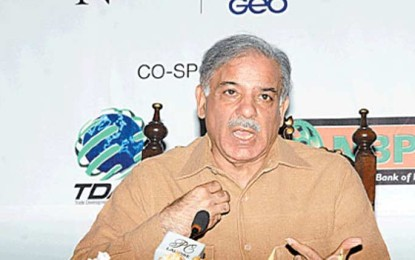 Pakistan, India have no option but to promote peace: Shahbaz