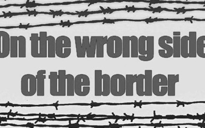 On the wrong side of the border