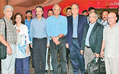 Indian guests receive warm welcome