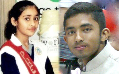 Teenage Indo-Pak Peace Agents