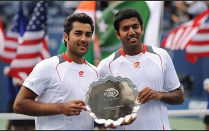Aisam and Rohan: Peace for Sport's Image of the Year, 2010