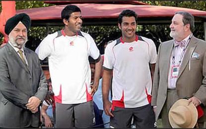 Aisam, Rohan win Peace and Sport award