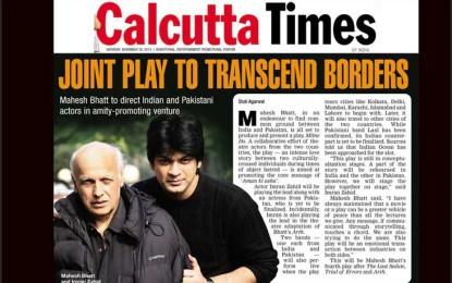 PLAY FOR PEACE: Mahesh Bhatt's 'Milne Do'