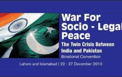 Aman ki Asha and legal fraternities of India, Pakistan join hands for peace