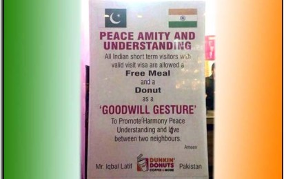 Pakistani entrepreneur's hospitality sends a goodwill message to India