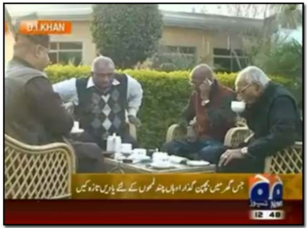 Three old friends return to their land of birth – Geo TV report