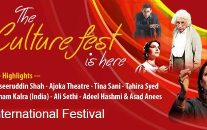 Indians, Pakistanis come together for inaugural Faiz International Festival