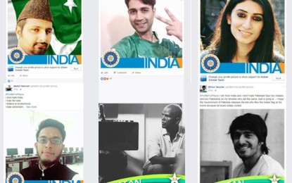 "Cricket crazy ""peace entrepreneurs"" bringing down the wall using #ProfileforPeace again"