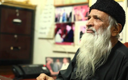#Edhi… A giant goes to sleep