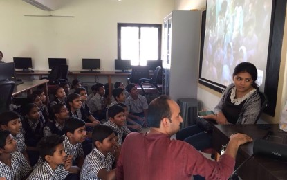 From 'dushman' to 'dost': schoolkids bond at a cross-border video conference