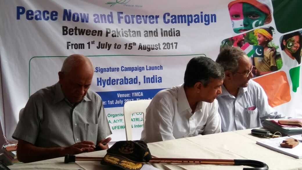 Pakistan – India: Peace Now and Forever Campaign launched