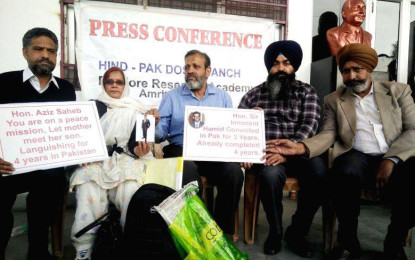 Cross-border prisoners: Peace groups hail Pakistan government humanitarian gesture, urge more