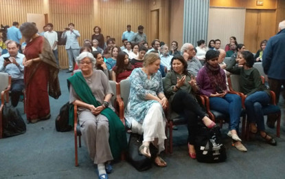 Salima Hashmi gives Delhiites and students a taste of art and art education in Pakistan