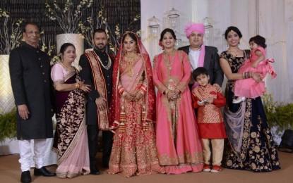 My sister's cross-border wedding