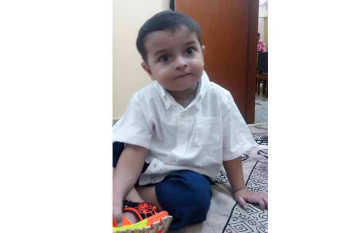 Parents of ailing two-year-old plead for Indian medical visas