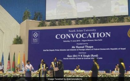 Five Pakistani students graduate from SAU