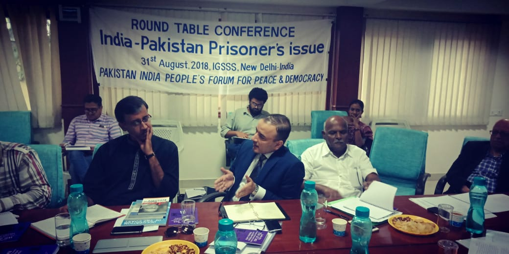 Delhi Statement and resolutions from the Pakistan-India Roundtable on prisoners' issue