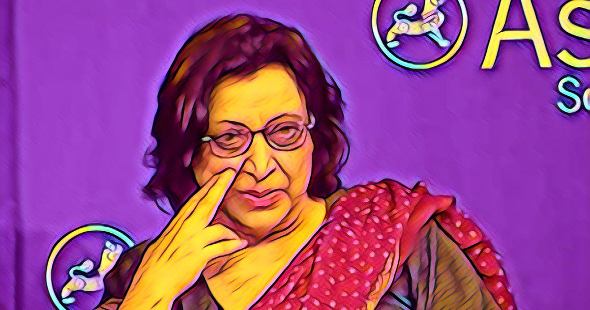 Celebrating Fahmida Riaz in Delhi