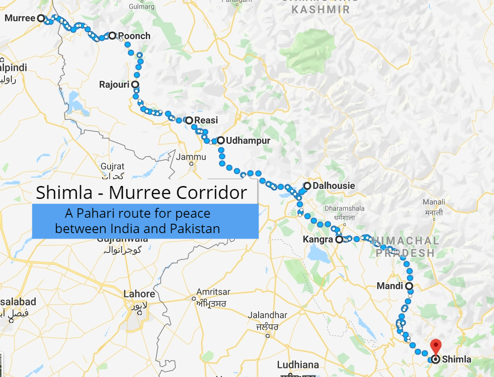 Dreaming of peace dividends: Revival of Shimla-Murree linkages