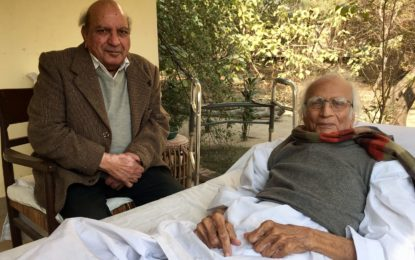 Flame of faith: Salute to Dr Mubashir Hasan from Gandhi's grandson
