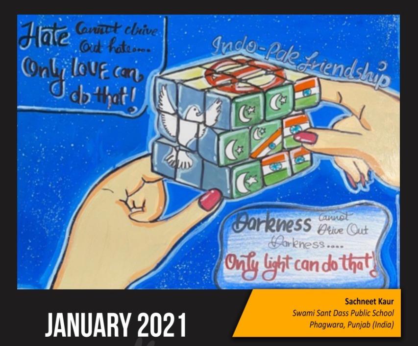 "Ninth Indo-Pak Peace Calendar launch: Activists and academics call to ""open visas"""