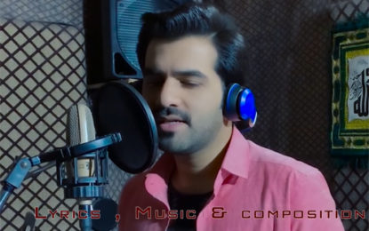 Pakistani singer-songwriter Imran Hashmi's heart touching song of solidarity with India